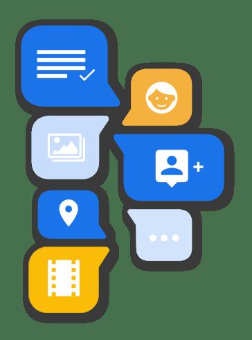 Text Global RCS Rich Communication Services