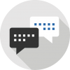 Text Global SMS Marketing Inbound Data Capture Reply Icon
