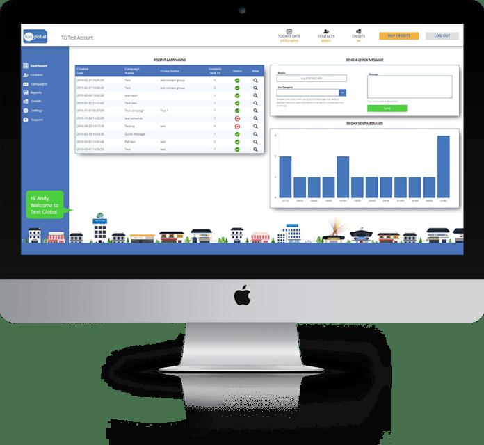 Text Global SMS Platform marketing solution